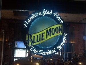 Blue Moon Brewing Co. at the Sandlot