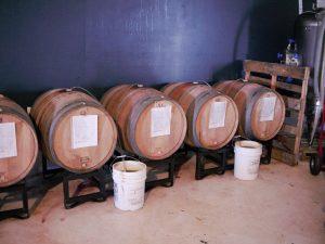 Cellar West Barrels